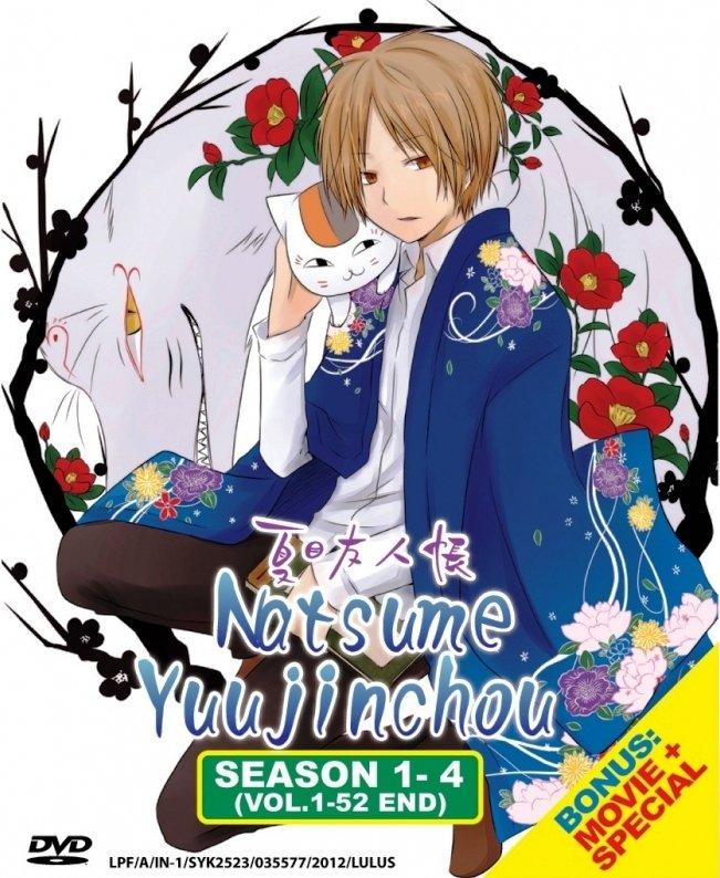 Download Anime Natsume Yuujinchou: DVD ANIME Natsume Yuujinchou Season 1-4 + Movie + Special