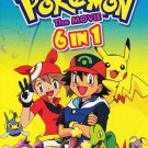 DVD ANIME POKEMON 6 Movies Pikachu Cantonese Audio Chinese Sub Region All