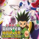 DVD ANIME HUNTER X HUNTER Season 2 (2011) Vol.101-148End Region All English Sub