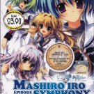 DVD JAPAN ANIME MASHIROIRO SYMPHONY Vol.1-12End The Color of Lovers English Sub