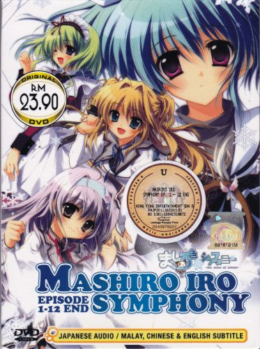 DVD JAPAN ANIME MASHIROIRO SYMPHONY Vol.1-12End The Color of Lovers English Sub