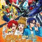 DVD JAPANESE ANIME Gundam Build Fighters Try Vol.1-25End English Sub Region All