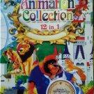 DVD 12 Animation Collection Snow White Thumbelina Heidi Chinese English Audio