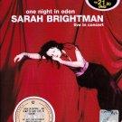 SARAH BRIGHTMAN One Night In Eden Live In Concert Johannesburg DVD NEW NTSC