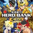 DVD JAPANESE ANIME Hero Bank Vol.1-60End English Sub Region All Free Shipping