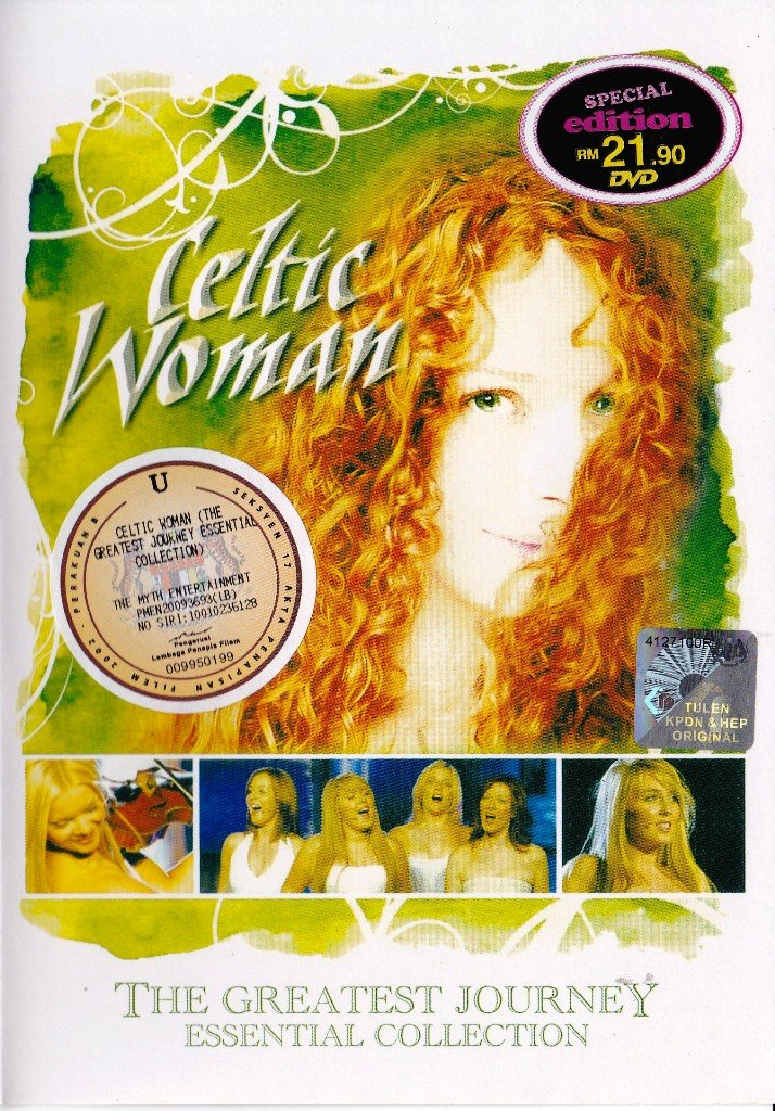 CELTIC WOMAN The Greatest Journey Essential Collection DVD NEW Free Shipping