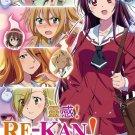 DVD JAPANESE ANIME RE-KAN! Vol.1-13End Sixth Sense English Sub Region All