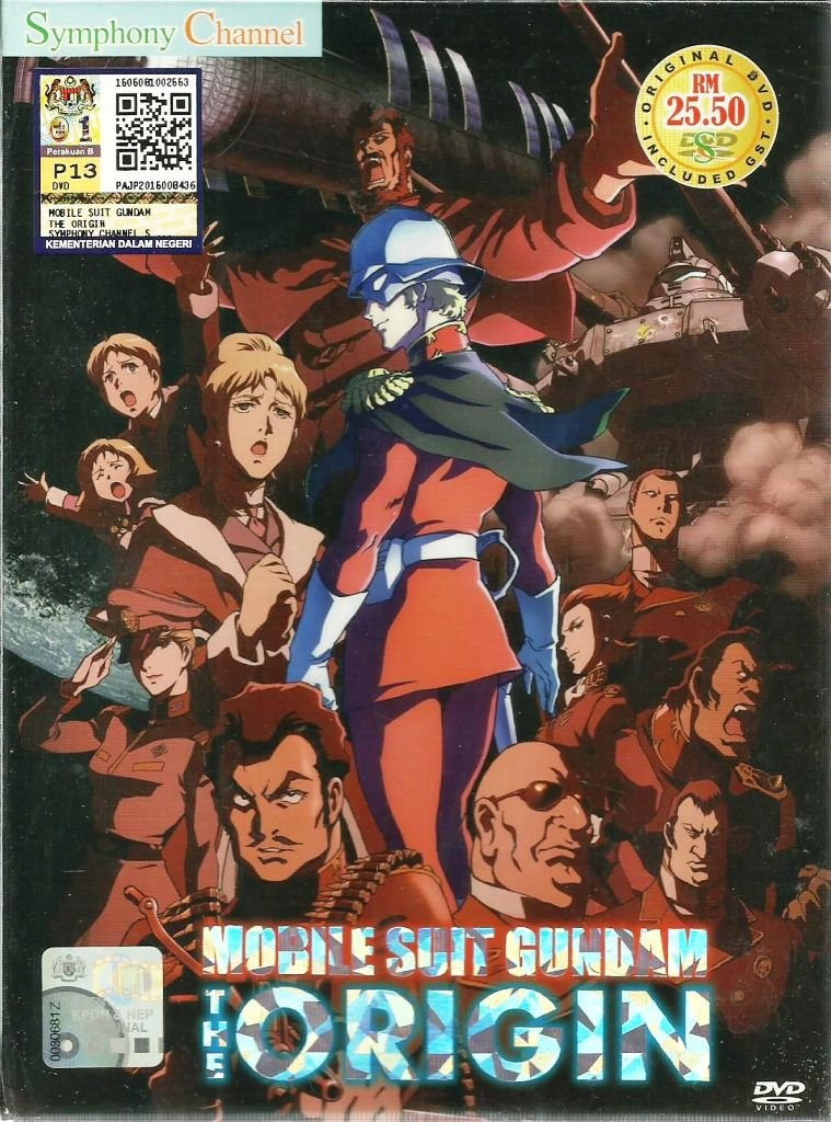 DVD ANIME MOBILE SUIT GUNDAM OVA The Origin Kidou Senshi Gundam English Audio