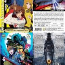 DVD ANIME SPACE BATTLESHIP YAMATO 2199 TV Series + 2 Movies Combo Set Eng Sub