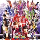 DVD Ressha Sentai ToQger Returns Super ToQ 7Gou of Dreams Movie English Sub