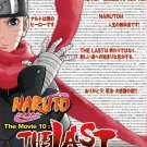 DVD JAPANESE ANIME The Last NARUTO SHIPPUDEN Movie 10 Region All English Sub