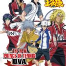 DVD JAPANESE ANIME New Prince Of Tennis Ova Vs Genius 10 V.1-10End English Sub
