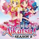 DVD JAPANESE ANIME AIKATSU! Season 2 Vol.1-51End Idol Activities English Sub