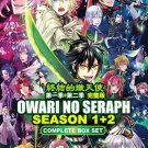 DVD JAPANESE ANIME Owari no Seraph Season 1-2 Seraph of the End English Sub