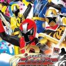 DVD Shuriken Sentai Ninninger Vol.1-50End Power Rangers Region All English Sub