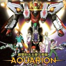 DVD ANIME Sousei no Aquarion + Aquarion Evol + Aquarion Logos + Movie + 2 OVA