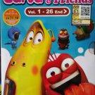 DVD KOREAN ANIME CARTOON Larva And Friends Vol.1-26End Region All