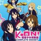 DVD JAPANESE ANIME K-ON! Season 1-2 + The Movie + 5 OVA English Sub KEION