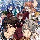 DVD JAPANESE ANIME Active Raid Kidou Kyoushuushitsu Dai Hachi Gakari Vol.1-12End