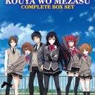 DVD JAPANESE ANIME Shoujo-tachi wa Kouya wo Mezasu Girls Beyond the Wasteland
