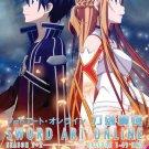 DVD ANIME Sword Art Online SOA Season 1-2 + Extra Edition+ Offline English Audio