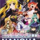 DVD JAPANESE ANIME Magical Girl Lyrical Nanoha Movie 1st English Sub Region All