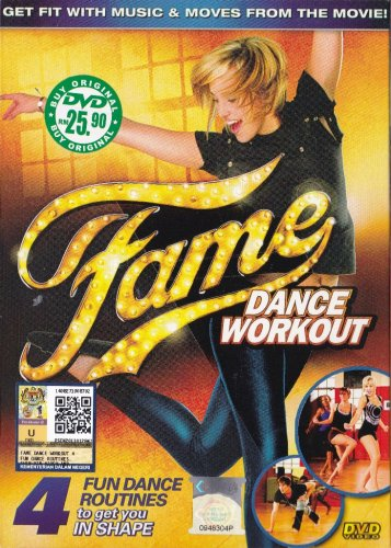 DVD Fame Dance Workout 4 Fun Dance Routine To Get You In Shape Region All