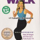 DVD Walkaerobics Walk The Walk Leslie Sansone Fitness Home Exercise 3DVD Set