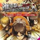 DVD ANIME Attack On Titan TV 1-25End English Dub + 2 Movie 5 OAD 9 Extra Eng Sub