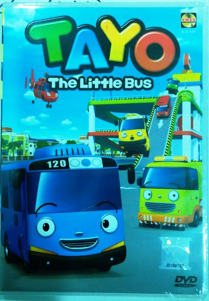 TAYO The Little Bus Season 1 Theme Song DVD Korean Animated Cartoon English Dub