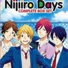DVD ANIME Nijiiro Days Vol.1-12End Rainbow Days Romance English Sub Region All