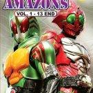 DVD Masked Kamen Rider Amazons Season 1 Vol.1-13End English Sub