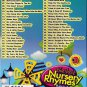 DVD Karaoke Best Nursery Rhymes 52 Children Songs Vol.3 English Sub Region All