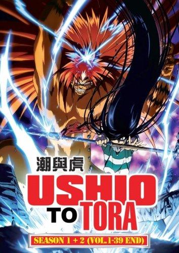 DVD JAPANESE ANIME Ushio To Tora Season 1-2 Vol.1-39End English Sub Region All