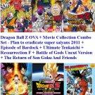 DVD Dragon Ball Z OVA + Movie Collection Anime Combo Set English Sub Region All