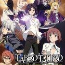DVD Taboo Tattoo Vol.1-12End Japanese Anime Supernatural English Sub Region All