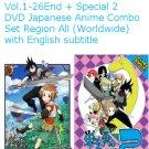 DVD Senyuu Season 1+2 Vol.1-26End Special Japanese Anime English Sub Region All