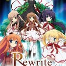 DVD Rewrite Complete TV Series Vol.1-13End Japanese Anime English Sub Region 0