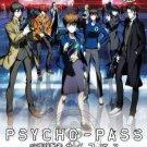 DVD JAPANESE ANIME PSYCHO PASS Season 1+2 Vol.1-33End English Sub Region All