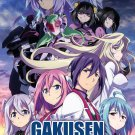DVD ANIME Gakusen Toshi Asterisk Season 1-2 The Academy City On The Water