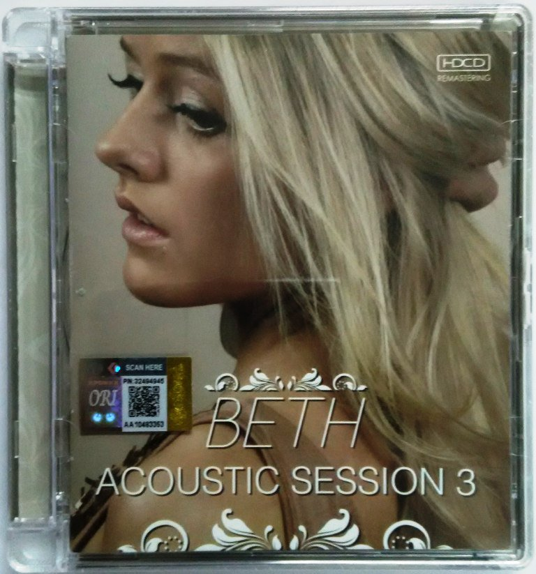 BETH Acoustic Session 3 Swedish Artist CD NEW Asia Edition HDCD Remastered