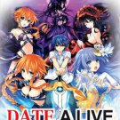 DVD Date A Live Season 1-2 English Dub + 2 OVA + Movie English Sub Region All
