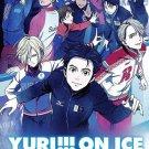 DVD Yuri On Ice Complete TV Series Vol.1-12End Figure Skating Anime English Dub