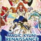 DVD Magic-Kyun! Renaissance TV Series Vol.1-13End Anime English Sub Region All