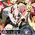 DVD Occultic;Nine TV Series Vol.1-12End Japanese Anime English Sub Region All