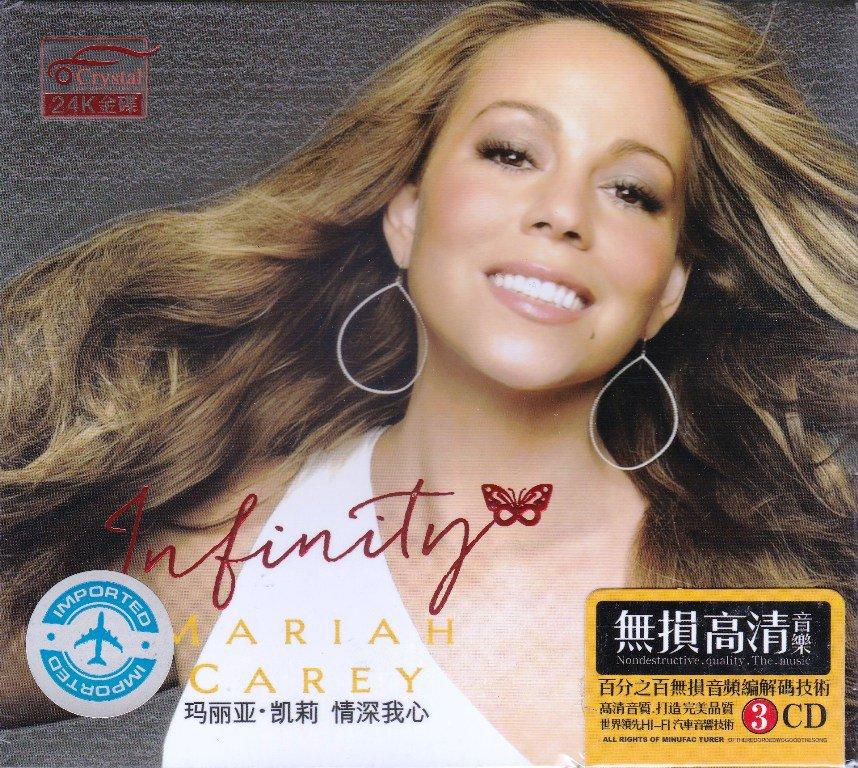 MARIAH CAREY Infinity + Greatest Hits Deluxe Edition 3 CD Gold Disc 24K Hi-Fi