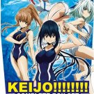 DVD Keijo!!!!!!!! Complete TV Series Vol.1-13End Hip Whip Girl Anime English Dub