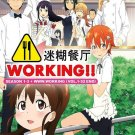 DVD Working! Season 1-3 + WWW.Working Vol.1-52End Japanese Anime English Sub