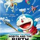 DVD Doraemon The Movie Nobita And The Birth of Japan Anime English Sub