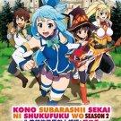 DVD ANIME Kono Subarashii Sekai ni Shukufuku wo Season 2 English Sub KonoSuba